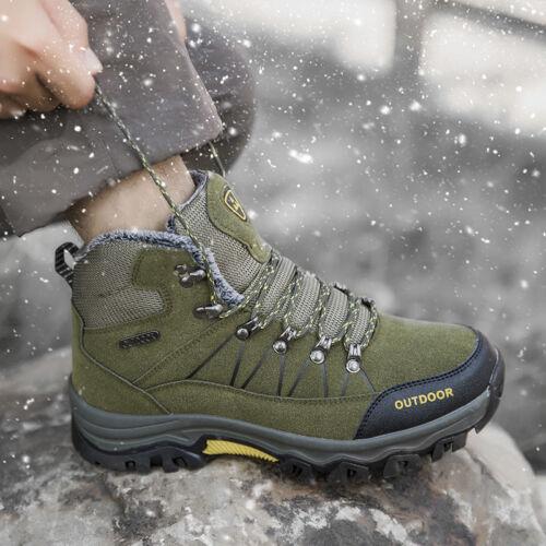 Herren Wanderstiefel Trekkingschuhe Outdoor Wanderschuhe Schneestiefel GR 39-46