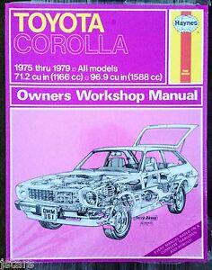 corolla repair manual