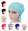 Muslim-Women-Ladies-Full-Cover-Hijab-Turban-Islamic-Pleated-Head-Wrap-Chemo-Cap thumbnail 1