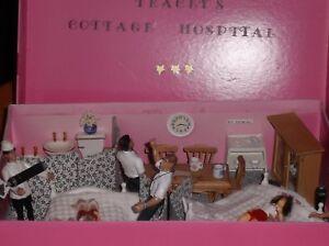 Poupees Miniatures Dollhouse-miniatures England Maison Hopital