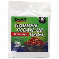 10x 90L Extra Large Garden Clean Up Bags Waste Leaves Twig Branch Refuse Sack
