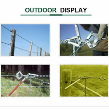 Repair Barbed Wire 12m Chain Strainer Stretcher Tensioner Cattle Barn Fence