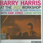 Barry Harris at the Jazz Workshop by Barry Harris (Piano) (CD, Aug-1996, Original Jazz Classics)