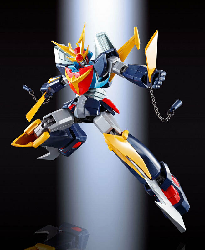 Soul of Chogokin GX-82 Invincible Steel Man Daitarn 3 F.A. Bandai Japan New