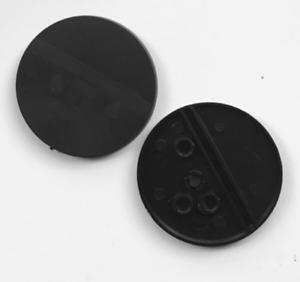20mm x100 pcs Square Plain Plastic Bases Warhammer AOS Infinity Brand New