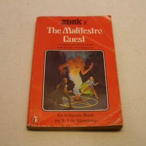 Infocom Book: Zork The Malifestro Quest, the RARER Puffin