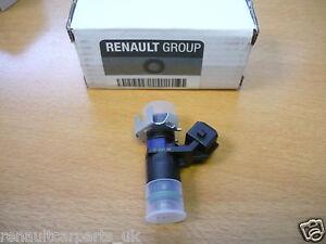 genuine new renault megane 225 r26 fuel injector x1 8200511099 ebay. Black Bedroom Furniture Sets. Home Design Ideas