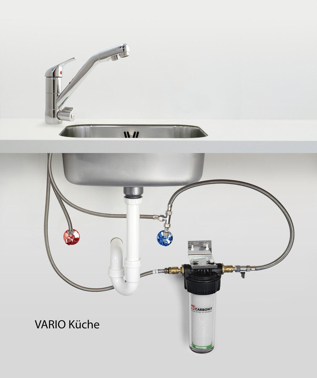 CARBONIT vario Cuisine Filtre Avec ws 6 Combi robinet