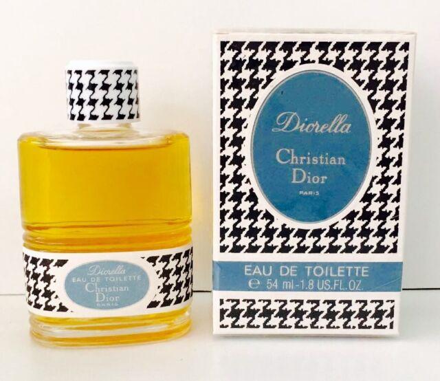 Christian Dior VINTAGE Diorella EDT 54ml Splash ( No Spray)  New & Rare