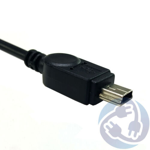 Black 6FT Mini USB Charger Cable Cord for Sony PS3 Controller Cell Phone Tablet