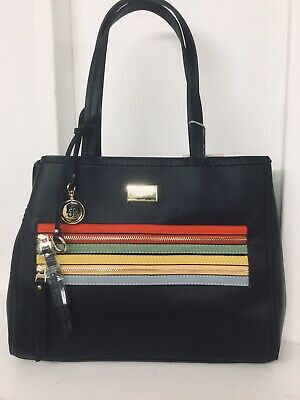 Sonnig Bessie Shoulder Bag Black With Coloured Middle Very Latest Top Quality Bag
