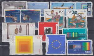 CEPT-Ausgaben-BRD-aus-1987-1995-7-Saetze-postfrisch-MW-23-80-2Y-26-2