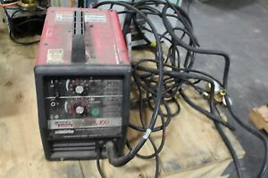 Image Is Loading Lincoln Electric Wire Feed Mig Welder Sp 100