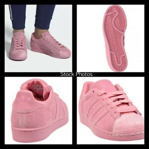 Adidas-Women-039-s-Shoes-Sneakers-Superstar-CG6004-Valentines-Clear-Pink-6-5-NEW
