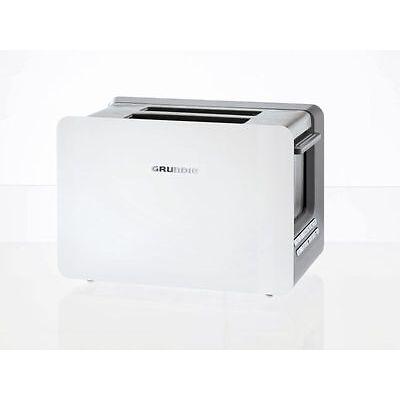 Grundig TA 7280 W Toaster  LED-Display  Weiß  2-Schlitz-Toaster