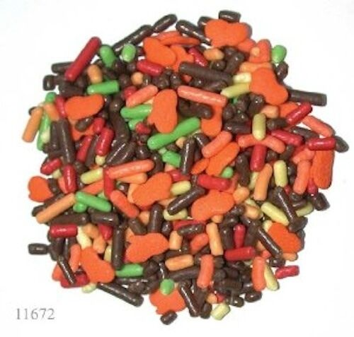 Kerry Jack O'Lantern Mix Sprinkles Halloween, 1 pound deal with Free Shipping