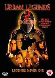 1 of 1 - Urban Legends 2 - Final Cut (DVD, 2004)
