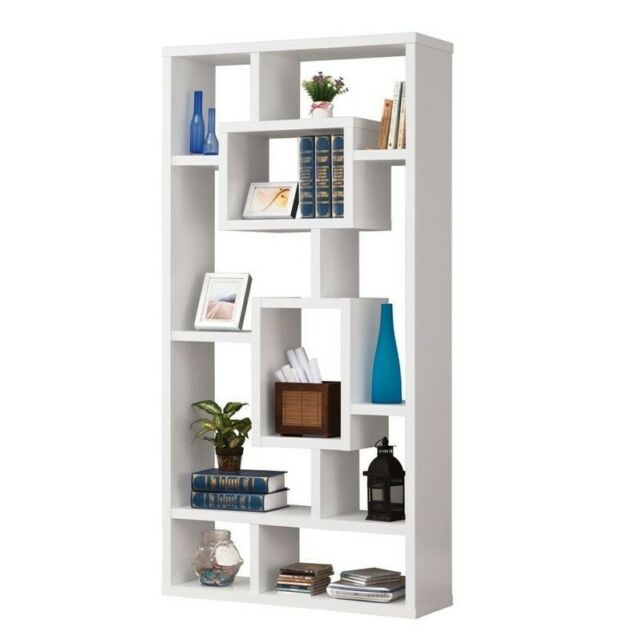 Coaster Furniture White Modular Bookcase