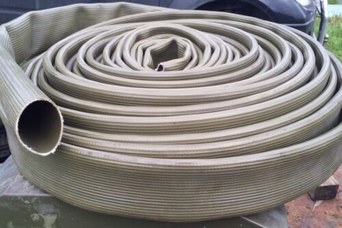 """Layflat Hose Heavy Duty 3/"""" Bore x 28m Long Green Suitable For Water Pumps"""
