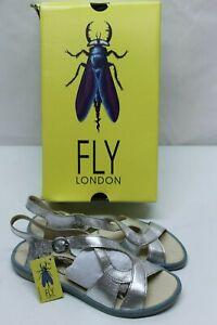 Fly London Mura859fly Sandales Bout Ouvert Femme
