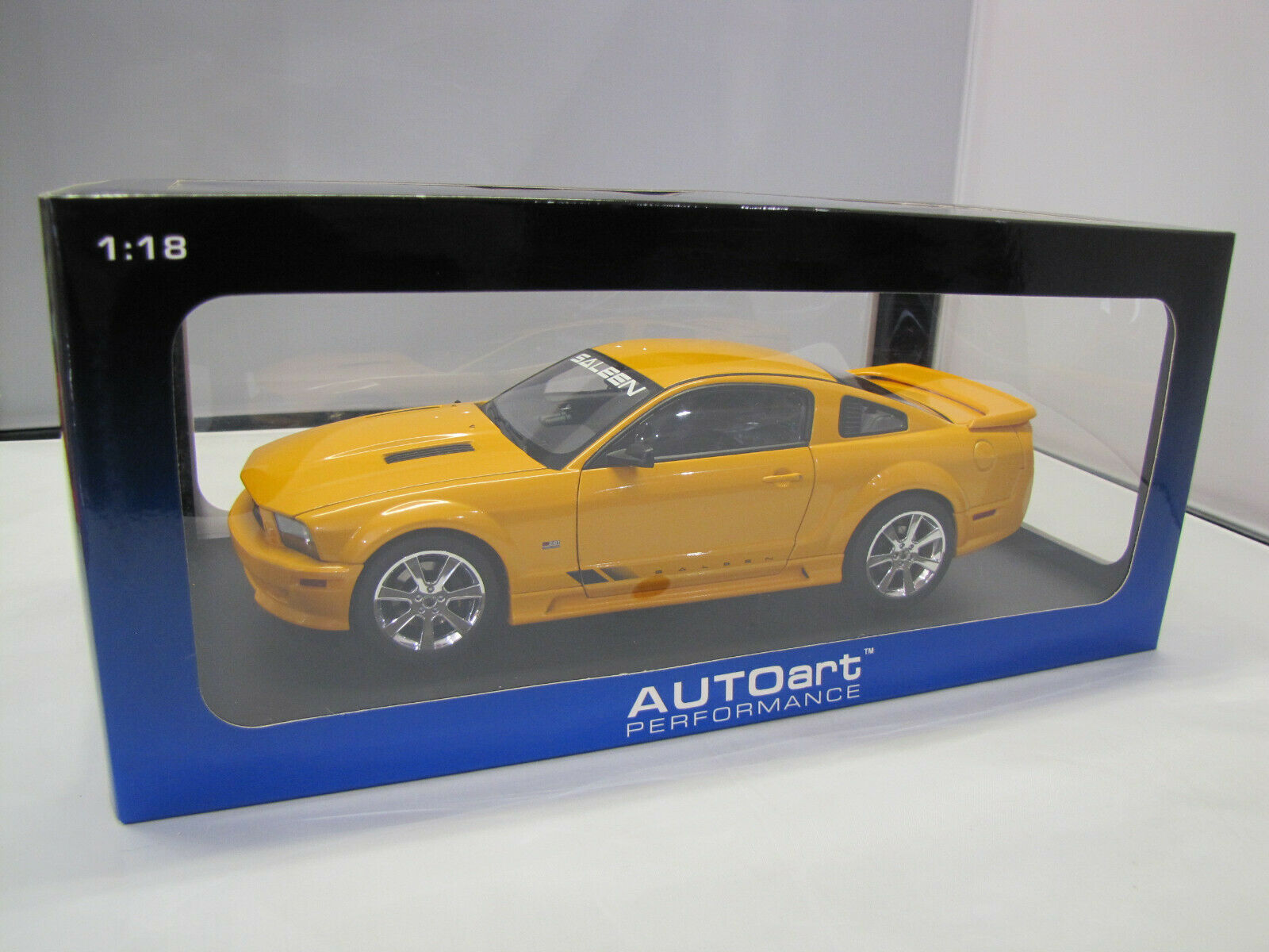 73056 Autoart SALEEN Mustang s281 SUPERCHARGED-naranja - 1 18