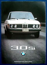 Prospekt brochure BMW 3.0 Si  (USA, 1975)