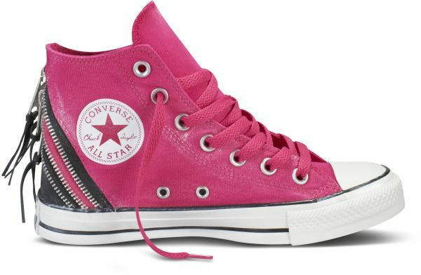Converse Chuck All Star zapatos zapatillas Pink tri ZIP