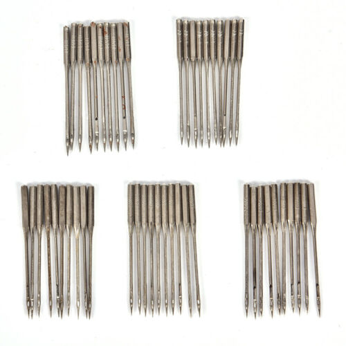 Aguja de la máquina de coser doméstica 50pcs 11 75,12 80,14 //90,16 //100,1 G2
