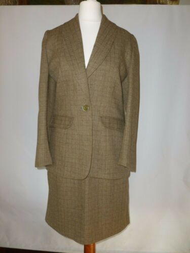 Green 10 Suit Tweed Size Country Uk qSpzMVUG