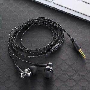 Braided-Rope-Wire-Cloth-Rope-Headsets-Noise-Isolating-Subwoofer-Earphone-U