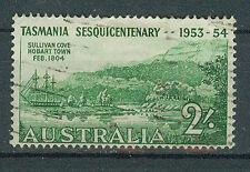 Briefmarken Australien 1953 1. Niederlassung in Tasmanien Mi.Nr.240