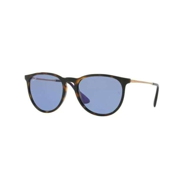 Ray-Ban Erika RB4171 639276 Tortoise Frame Lt Blue Classic 54mm Lens  Sunglasses ec115fbaca