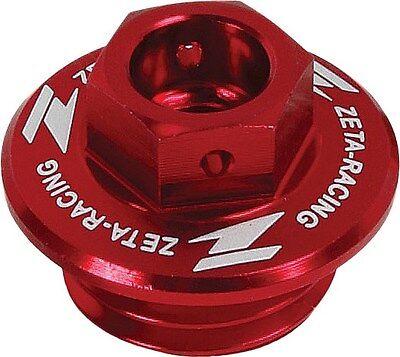 Oil Filler Plug KX450F 06-17 ZETA Red Kawasaki KX250F 04-017 ZE89-2310