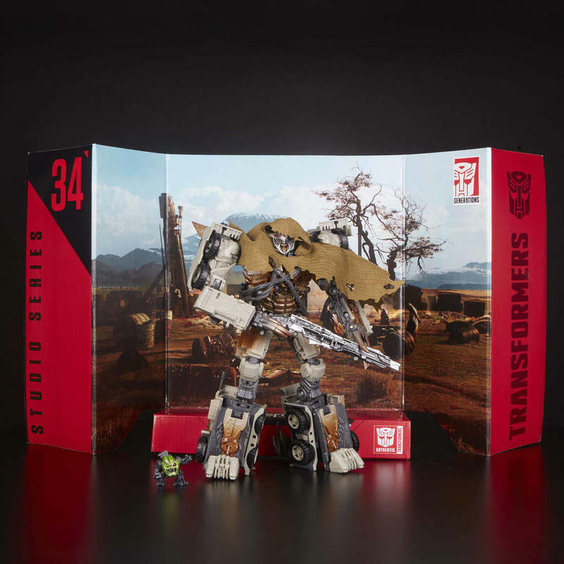 (en existencias) Hasbro Líder de Transformers Studio Serie  34 oscuro de la Luna Megatron Figura Nueva