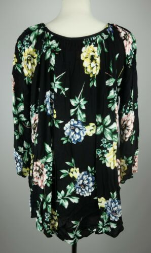 NEW Show Me Your MuMu Women/'s Floral Button Down Catalina Cup Tunic MSRP $133.00