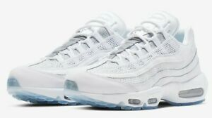 Details about Nike Air Max 95 Essential White Pure Platinum 749766 115 Men's Size 9.5