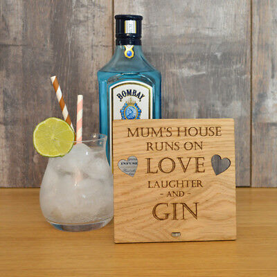 This House Runs On Love Laughter /& Bombay Sapphire Sign Bombay Sapphire Sign