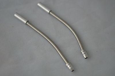90 Degree V-Brake Noodle with Barrel Adjuster Silver 2pcs//set U.Z BIKE
