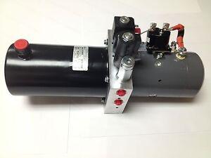 Buyers Products PU5007 Hydraulic Power Unit Power Unit,Hydraulic 12V Dc,Snow Plow