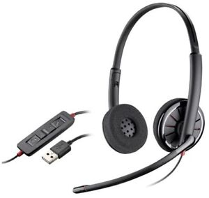 4605fa9bdcb Image is loading Plantronics-Blackwire-C320-USB-Stereo-UC-Corded-Noise-