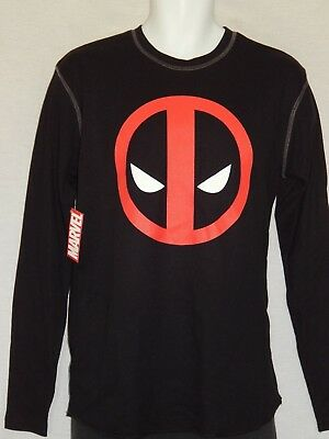 New Marvel Deadpool Icon Badge Mens T-Shirt