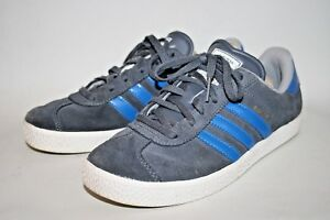 pas cher pour réduction 4692b 29e80 Détails sur Adidas Gazelle Original Chaussures Femme Unisexe Running Gym  gris daim bleu UK 4- afficher le titre d'origine