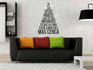 Vinilo-decorativo-pegatina-pared-sticker-decoracion-frase-MONTANA-SUPERACION
