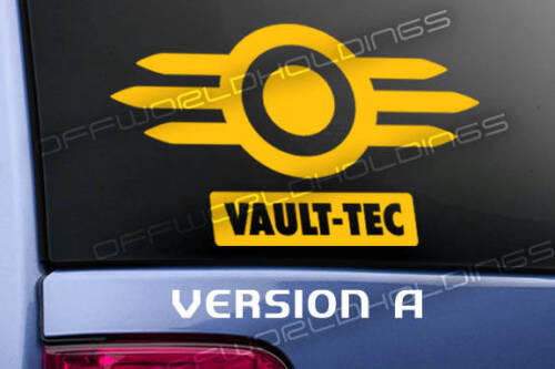 Fallout 4 accurate VAULT TEC sticker decal Pipboy 111 XBox One 360 PS4