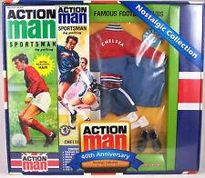 Action Man 40th Ann Chelsea Footballer Set (Includes Figure)
