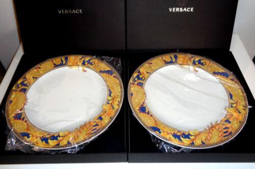 Rosenthal Versace Legend of the Dragon 2 x Frühstücksteller 22 cm Neu & Ovp