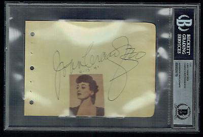 Autogramme & Autographen Diskret Joan Crawford D 1977 & Charles Butterworth 1946 Unterzeichnet Autogramm 4.5x6 Bühne