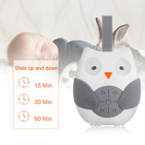 White Noise Baby Sleep Sound Audio Soothers Sleep Helper