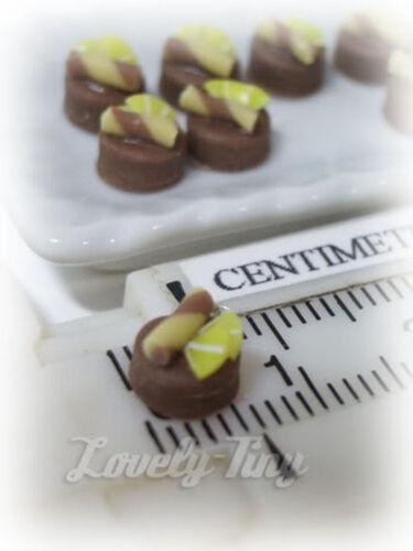 10 PCs.Lot of Dollhouse miniature Sweet Chocolatier