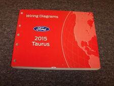 2015 Ford Taurus Sedan Electrical Wiring Diagram Manual SE SEL SHO 2.0L 3.5L V6